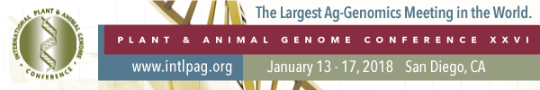 Plant and Animal Genome XXVI Conference (January 13 - 17, 2018)
